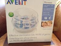 Bottle Steriliser Avent 6 Bottle Microwave