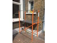 Scaffold ladder never used