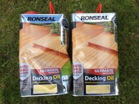 Decking Oil. 5 litre x 2 . Natural Finish
