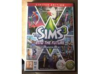 The Sims 3 Into the Future Expansion Pack limited edition