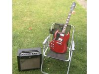 EPIPHONE G-400 PRO L/H ELECTRIC GUITAR - CHERRY