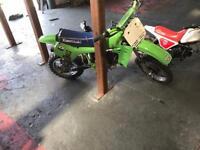 1981 Kawasaki kx 60