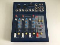 Professional 4 Channel Mixer Console F4/F7