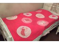 Fairy Quilt by John Lewis, cotton for single bed