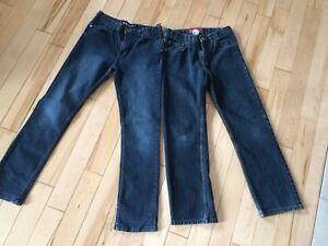 2 jeans 14-16 ans