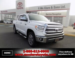 2017 Toyota 4X4 TUNDRA CREWMAX PLAT 5.7L Platinum loaded with op