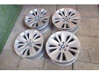 "Genuine BMW 18"" Alloy wheels 5x120 5 Series E60 E61 / 6 Series / 7 Series E65 E66 Alloys"