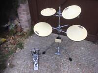 Practice Drum Kit - Go Anywhere Practice Kit