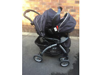 GRACO 2 in 1 Pram with Baby car seat