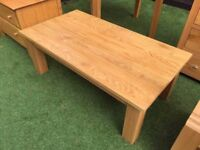 1x Solid oak coffee table *great condition*
