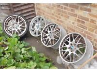 4 19inch Alloys available