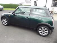 2005 Mini One 1.6 Well maintained with mainly BMW parts. Recent clutch, gearbox,