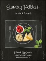 FREE Potluck! Best time to check out Moncton House Church!