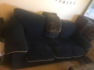 Couch and love seat (very comfy)