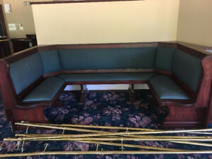 Booth for sale