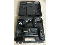 For Erbauer impact drivers: ERI606BAT batteries + ERB607CHR charger + carry case