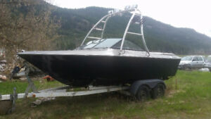 Project Boat - 21' Deep Hull, Tower, 5L Merc