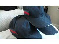 GUCCI CAPS BLACK