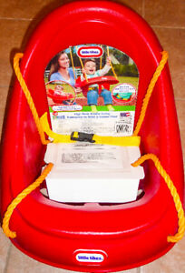*NEW* Little Tikes High Back Toddler Preschool Swing