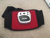 Beurer abdominal toning belt