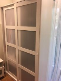 Ikea wardrobe for your dresses/suits!