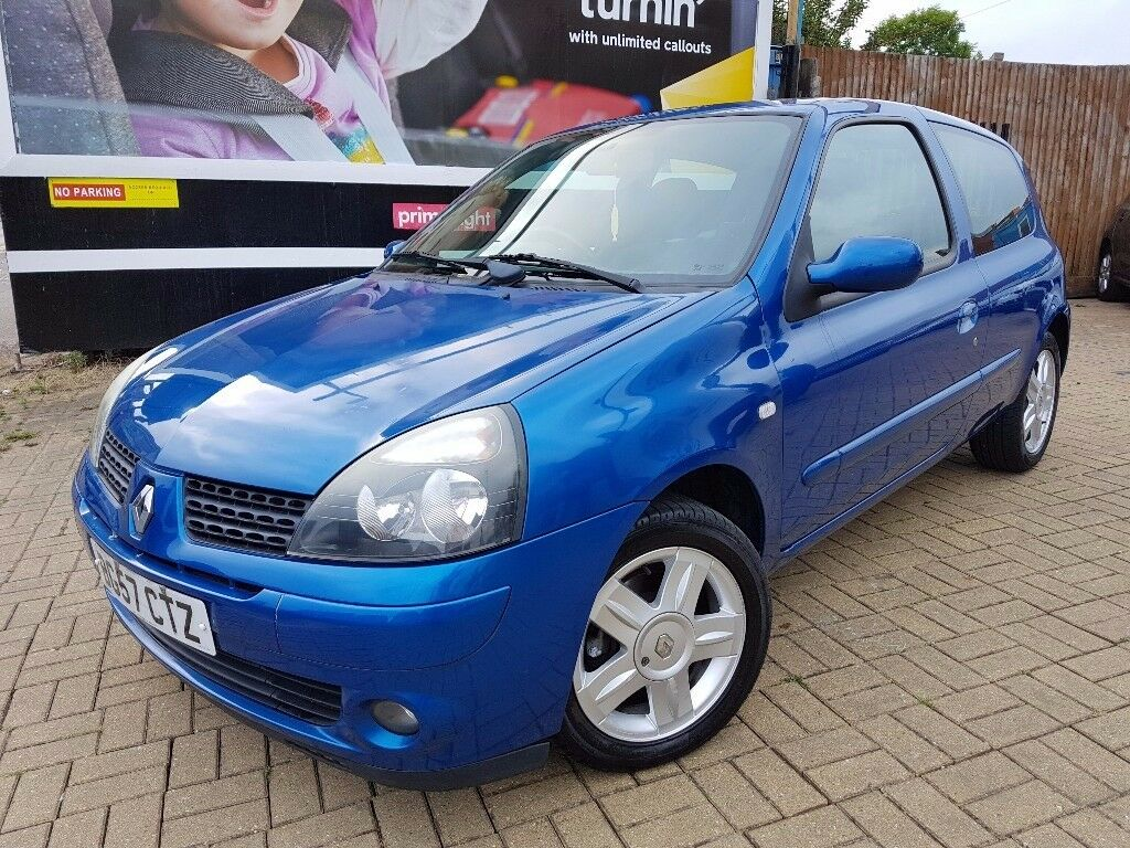 renault clio 1 2 campus sport i music 3dr low mileage only 35476 in sparkbrook west midlands. Black Bedroom Furniture Sets. Home Design Ideas