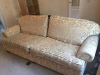 **FREE** Large 2 seater sofa --PICK UP TODAY--