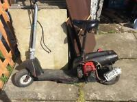 Go ped petrol scooters