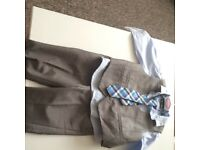 Baby boy 4 piece formal outfit NEXT