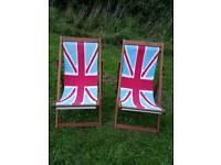 Union Jack Deck Chairs
