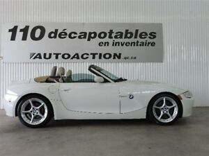 2008 BMW Z4 3.0si DÉCAPOATBLE NAVIGATION SPORT PACKAGE