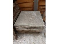 Paving slabs used condition
