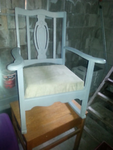 Refinished rocking chair