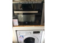 Beko oven and built in microwave new graded 12 mth gtee