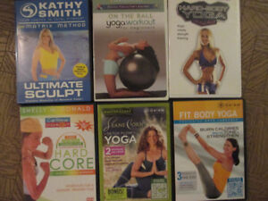 Assorted Exercise DVD's