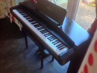 Yamaha Clavinova CVP 87A piano with 88 keys