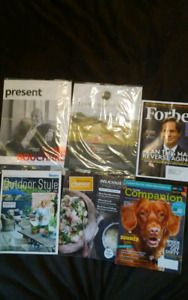 13 magazines $2 each or $15 for all