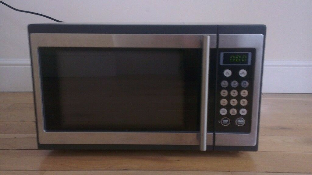 Breville 34l 1100w Stainless Steel Microwave Bmo300
