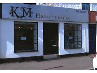 Hairdressing salon to rent in Kilmarnock.