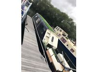 Narrow boat 42ft with mooring, with licence & boat safety cert, £25,000ono (OPEN 2 OFFERS) BOATHOUSE