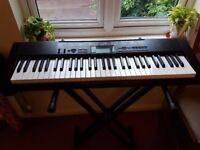 Casio CTK-1150 Keyboard with stand