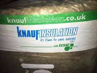 Knauf Insulation Earthwool (100mm Thick) 5 slabs per pack