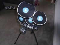 Selling my unisex Golf clubs with the bag as they don't get enough use anymore. Great for beginners!