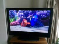Sony Bravia 40 inch HD lCD TV with blue ray player