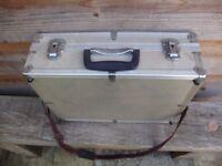 Aluminium clad lightweight camera case