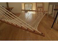 Hardly used net hammock