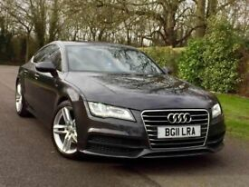 2011 AUDI A7 SPORTBACK ++ RARE OOLONG GREY ++ FULLY LOADED ++ HPI CLEAR ++ FSH ++ 2 KEYS ++ P/X WELC
