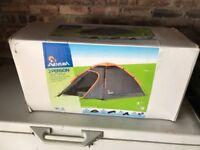 Unopened 2 man tent sleeping bag sleeping mat camping chair