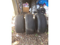 245/45/zr18 x2 continental tyres