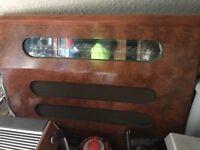 Old vintage radio large